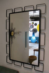кованое зеркало   30 -06 ( ART-METAL )