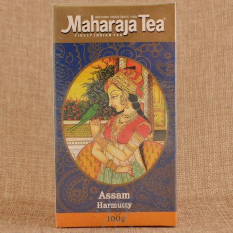 Чай черный ассам Харматти Махараджа, 100г