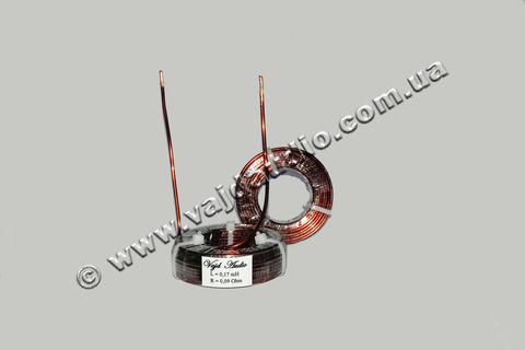 Катушка индуктивности Vajd Audio 0,17 mH*0,09Ohm*1,6 mm