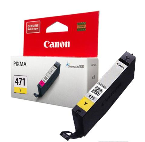 Картридж Canon CLI-471 Y/0403C001