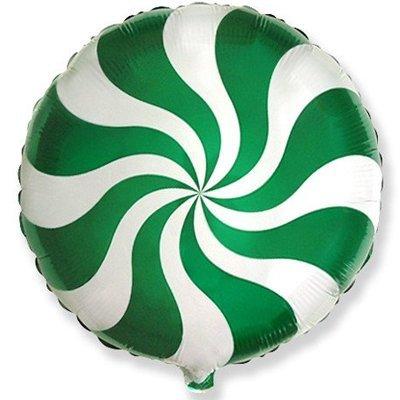 Конфета зеленая
