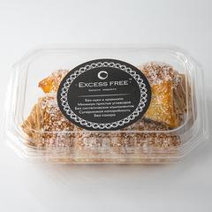 """Пирожное """"Чешские трубочки с творожным кремом со вкусом шоколада"""" 160 г"""