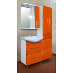 Мебель для ванной комнаты Грация оранж