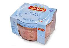 Тунец Yellowfin в собственном соку Callipo, 160г