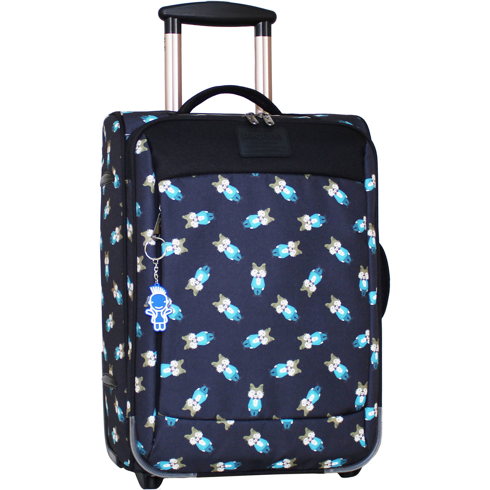 Дорожные чемоданы Чемодан Bagland Vichenzo 32 л. сублимация (бурундуки) (0037666194) IMG_6944.JPG