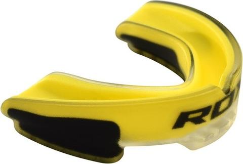 Капа RDX Air Max Gel Gum Mouth Guard Adult Yellow