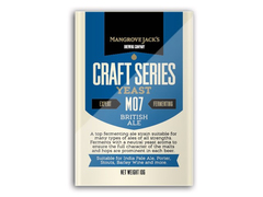 Дрожжи Mangrove Jack's Craft British Ale M07