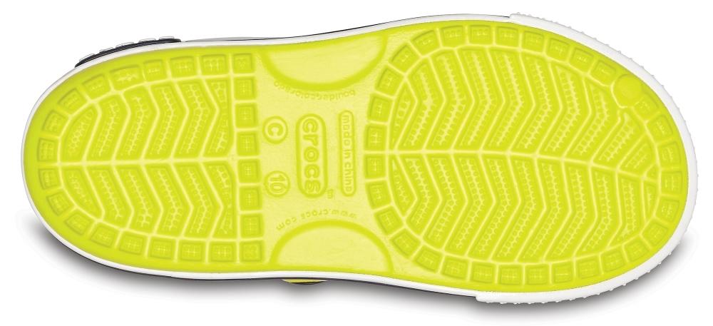 CROCS Crocband™ II Сэндл ПиЭс Теннис Болл Грин/Вайт