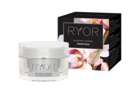 Ryor Caviar Care Дневной полужирный крем с экстрактом икры, маслом авокадо и макадамии (40+), 50мл