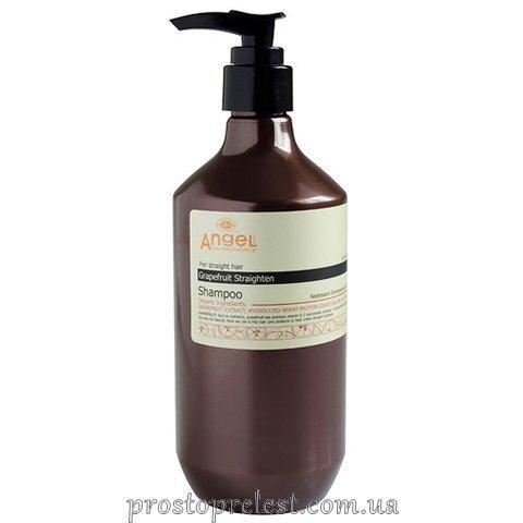 Angel Professional Paris Provence Grapefruit Straighten Shampoo - Шампунь для прямых волос с экстрактом грейпфрута