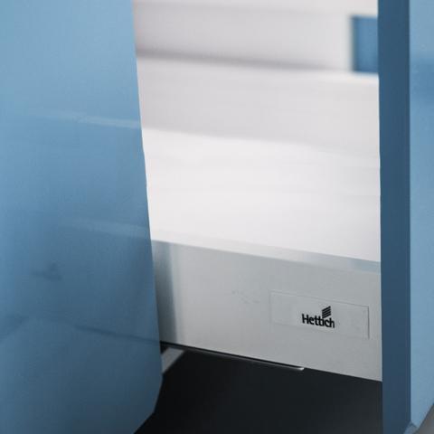 Напольный шкаф c 3 ящиками, 720Х450 мм / PushToOpen
