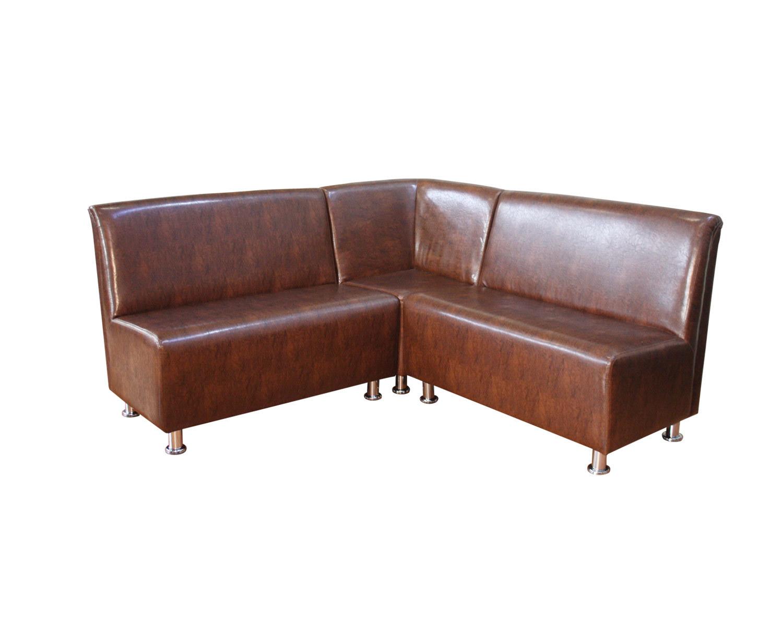 Комбинация из двух 2-местных диванов и закрытого угла Дели