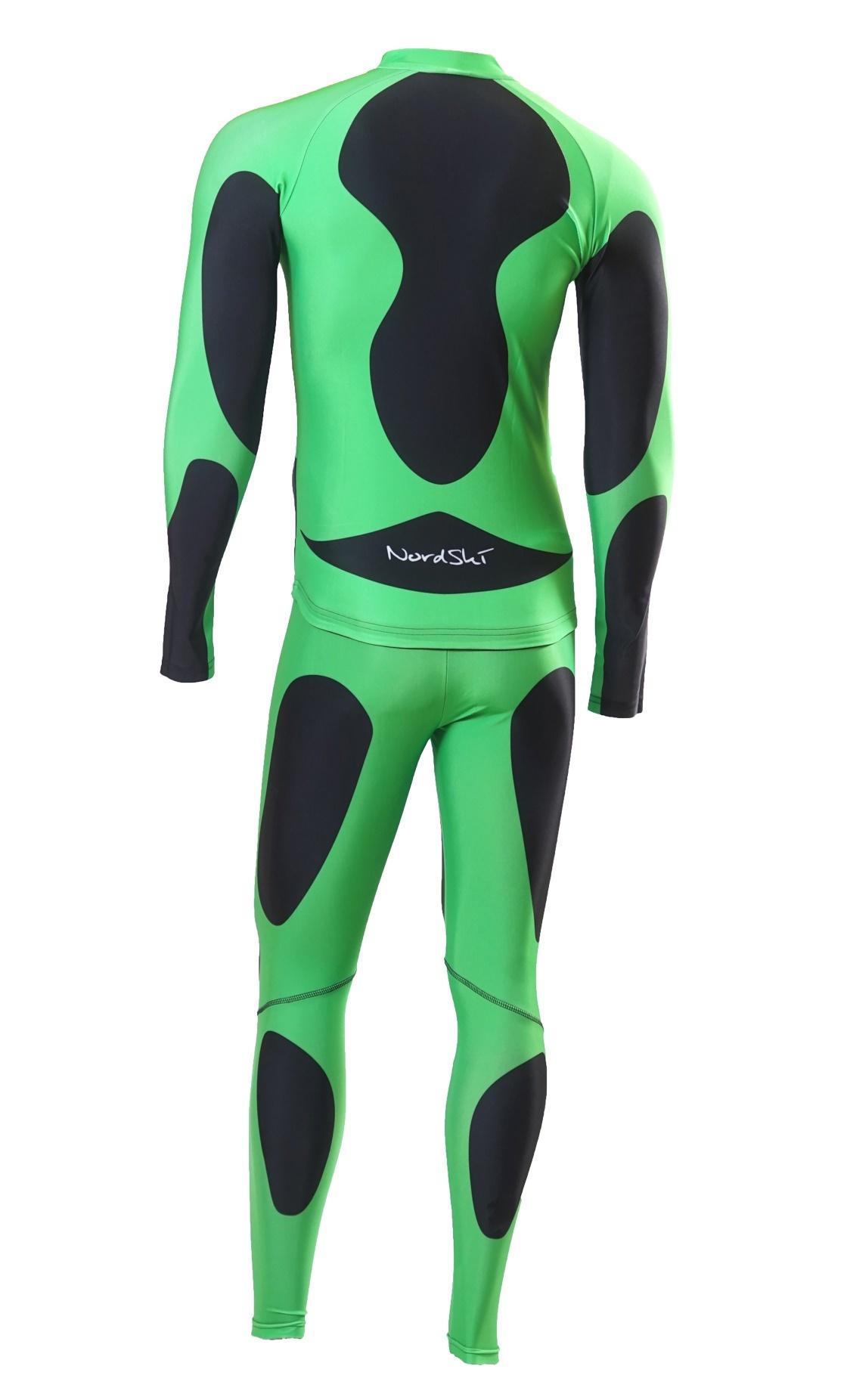 Детский лыжный гоночный комбинезон Nordski Premium (NSV112101) зеленый фото