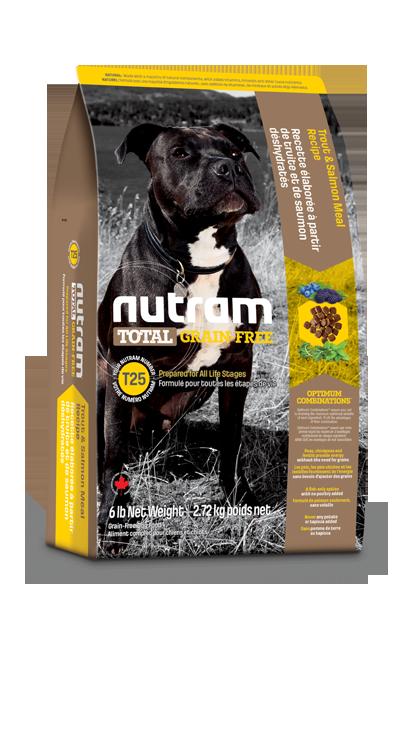 Сухой корм Корм для собак Nutram T25 беззерновой, форель и лосось zx26z37a5cu8.png