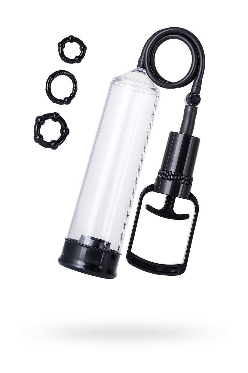 Вакуумные помпы: Вакуумная помпа A-toys с уплотнителем и эрекционными кольцами
