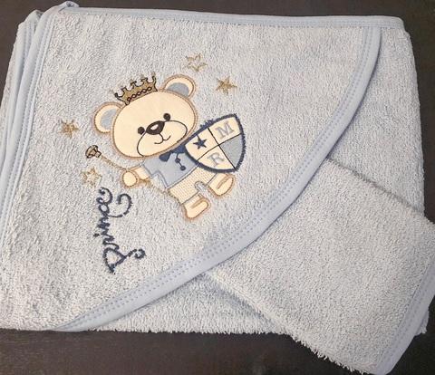 Набор детский  Мишка (полотенце+Варежка)
