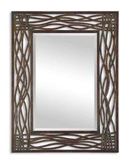 кованое зеркало   30 -07 ( ART-METAL )
