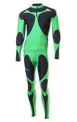 Детский гоночный комбинезон Nordski Premium (NSJ310900) зеленый