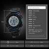 Часы SKMEI 1237 - Черный + синий