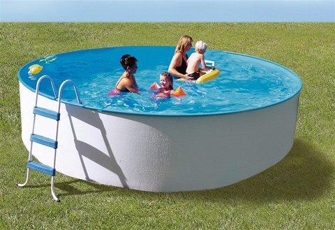 SF Каркасный (сборный) бассейн круглый 450x120 пленка 0,6 мм