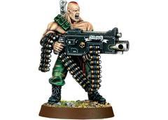 Imperial Guard Gunnery Sergeant Harker