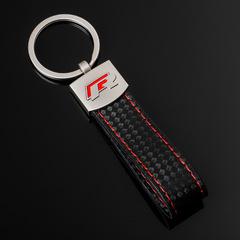 Брелок Фольксваген Р (Volkswagen R) для ключей автомобиля с логотипом, красный