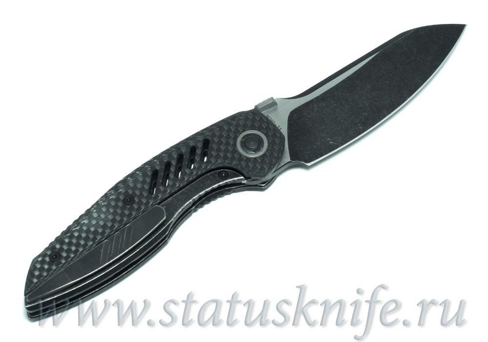 Нож CKF Ossom (Малышев, Ti, CF)