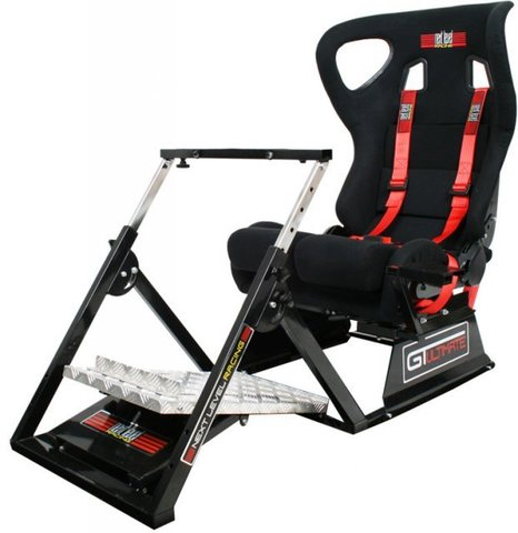 Игровое гоночное кресло Next Level GTultimate V2 Racing Simulator Cockpit