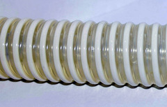 Шланг (диам.38 мм) напорно-всасывающий НОРМА 30 метров, армирован ПВХ спиралью