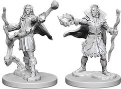 Pathfinder Deep Cuts Unpainted Miniatures - Elf Male Sorcerer