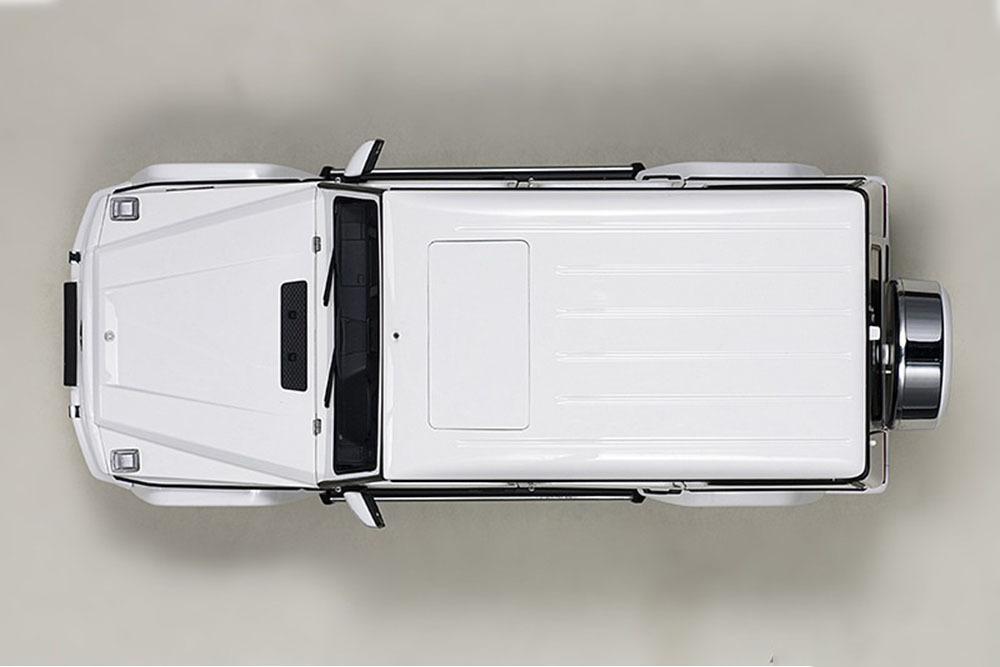 Коллекционная модель Mercedes-Benz W463 G-CLASS AMG G63 2017 WHITE