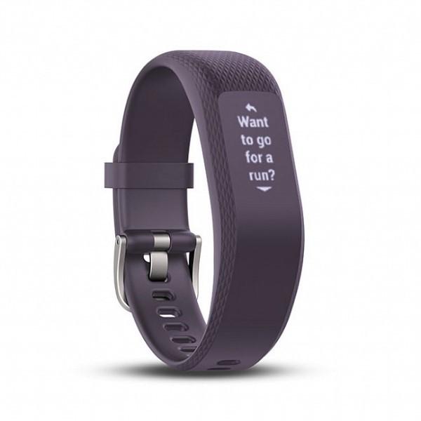 Фитнес-браслет Garmin Vivosmart 3 водонепроницаемый (фиолетовый)