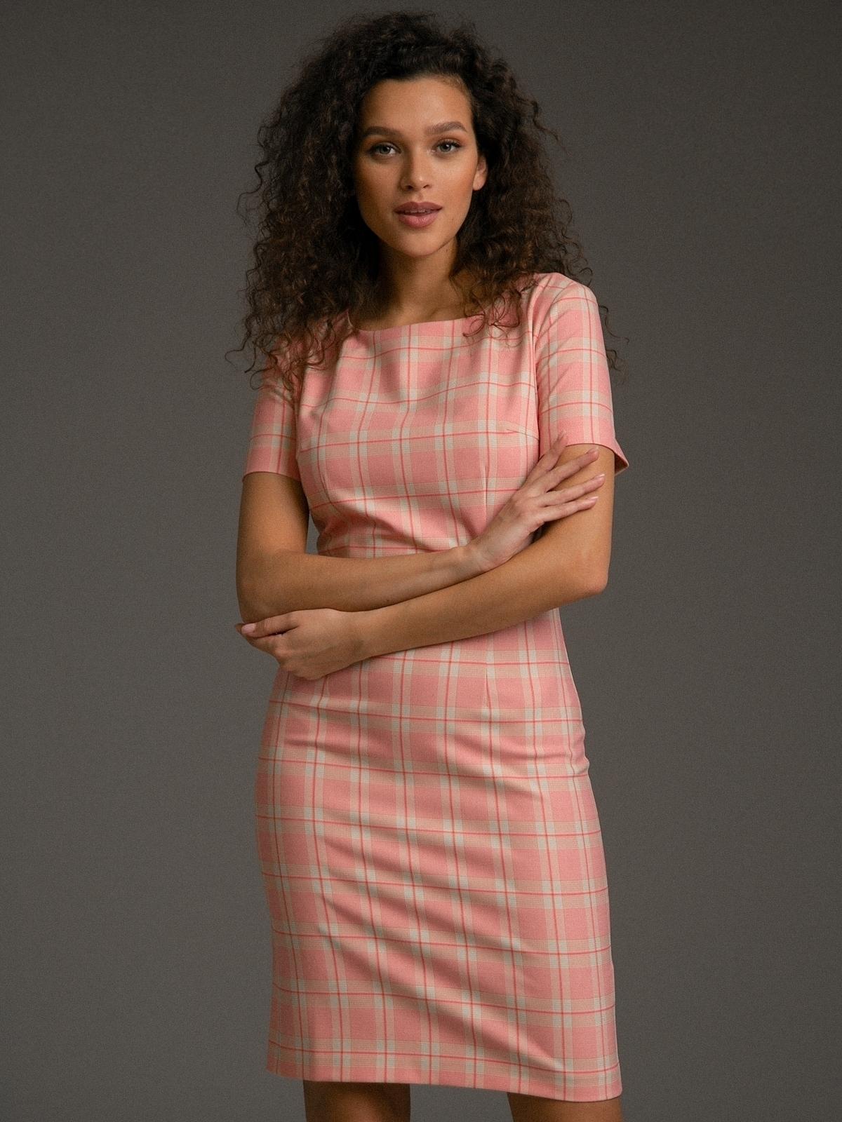 Платья Платье в клетку PL1066/stay HF8B3109.jpg