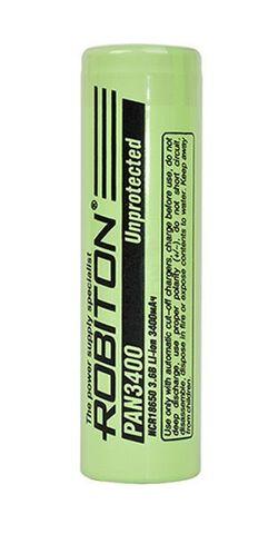 аккумулятор Robiton PAN3400 18650 3400 mAh, без защиты