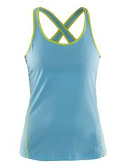 Женская спортивная майка Craft Mind Run 1903943-2304 голубая