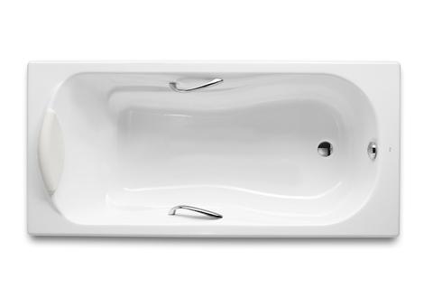 Чугунная ванна Haiti ванна 170х80 противоскользящее покрытие Roca 2327G000R
