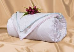 Одеяло шелковое теплое-очень теплое 200x220 OnSilk  Адам и Ева