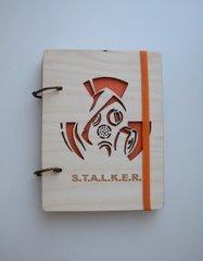 Деревянный блокнот «S.T.A.L.K.E.R.»