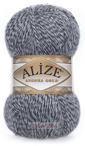 Angora GOLD Alize 700 Серый мулине - фото