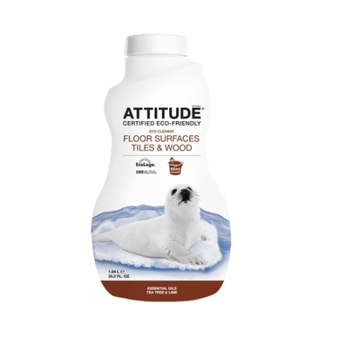 Средство для мытья всех типов полов Attitude