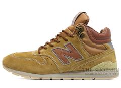 Кроссовки Мужские New Balance 696 Made In USA Brown