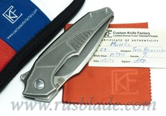 Muscle CKF and Tashi Bharucha NEW Knife Limited