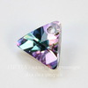 6628 Подвеска Сваровски Треугольник Crystal Vitrail Light (12 мм)