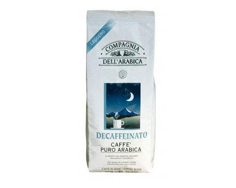 Кофе в зернах Compagnia Dell`Arabica Decaffeinato, 500 г (Компания Дель Арабика)