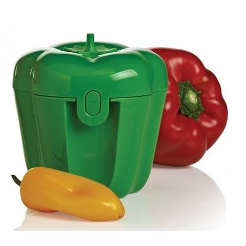 контенер перец в зеленом цвете