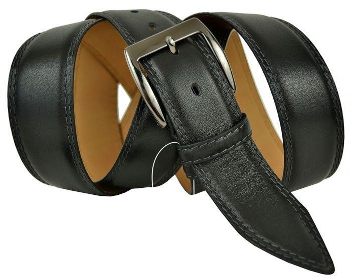 Ремень мужской джинсовый большого размера из кожи оленя Olio Rosti 40Ol.Rosti-B-019