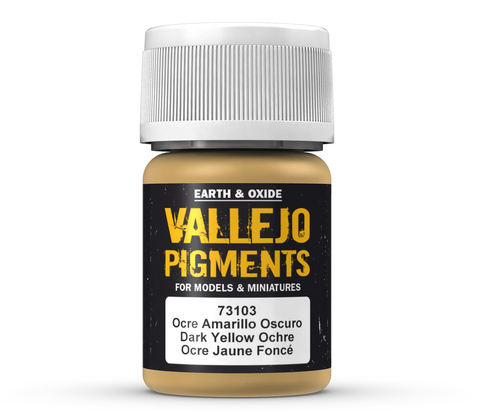 Pigments Dark Yellow Ochre 35 ml.
