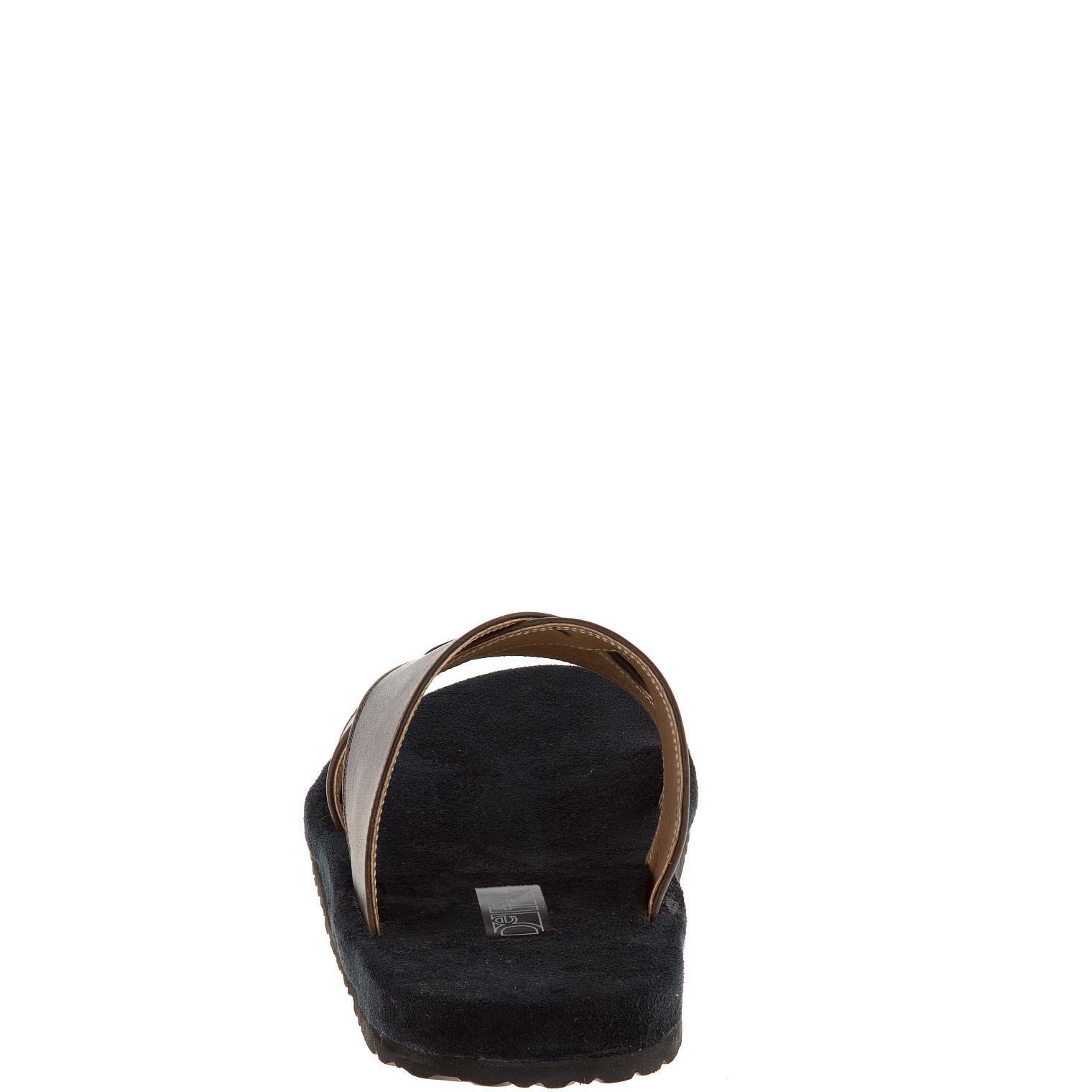 577157 сабо мужские коричневые больших размеров марки Делфино