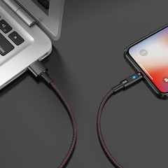 USB кабель HOCO Essence core smart power off Lightning U47