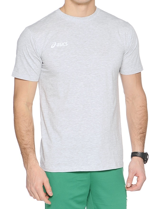 Мужская футболка Asics Promoziomnali (T207Z9 0094-1) светло-серая